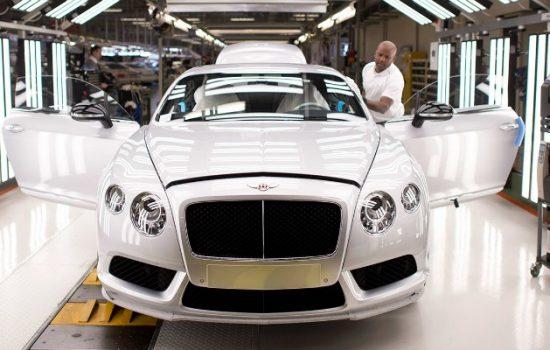 Bentley Motors Made Here Now