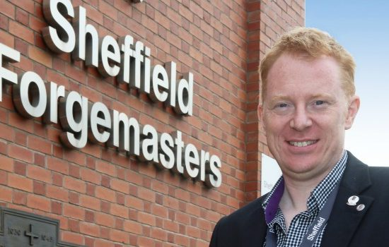 Mark Tomlinson, group development director, Sheffield Forgemasters