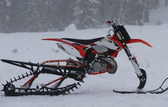 Timbersled is an innovator and market leader in the burgeoning snow bike industry - image courtesy of Business Wire and Timbersled