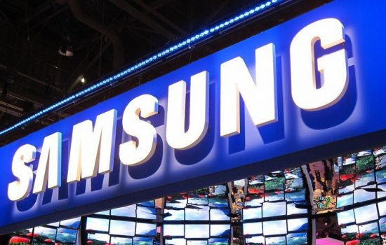 Samsung is the world's largest consumer electronics company. Image cropped & courtesy of Flickr - Nan Palmero