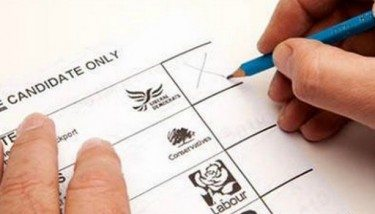 Election Ballot Paper