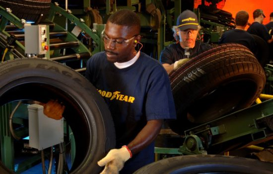 Goodyear is one of the world's largest tire manufacturers. Image courtesy of Goodyear.
