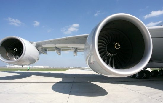 The Rolls-Royce Trent 900 powers the Airbus A380 (image courtesy of Rolls-Royce).