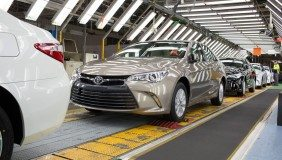 Production starts for Toyota's new-look Camry - image courtesy of Toyota Australia