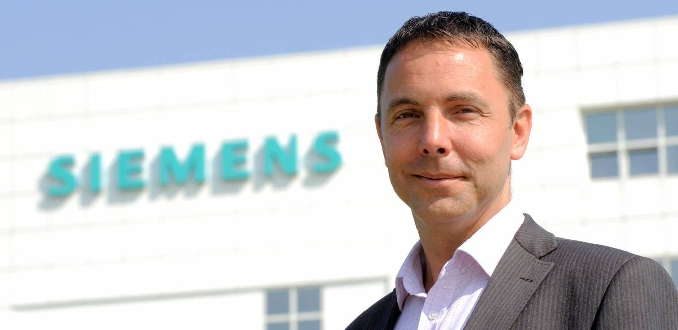 Brian Holliday, managing director, Siemens UK & Ireland.