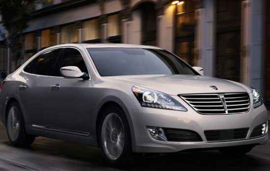 The 2015 Hyundai Equus. Image courtesy of Hyundai Motor.