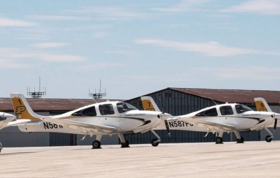 Purdue's Department of Aviation Technology is one of the largest classes for aviation professionals in the country.