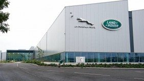 The JLR engine production facility in Wolverhampton.