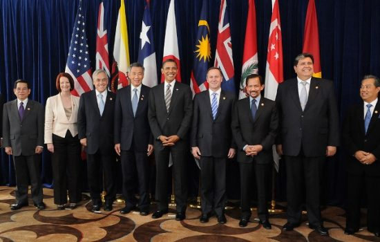 The TPP has been under negotiation by member states for several years now. Image courtesy of Wikipedia Commons