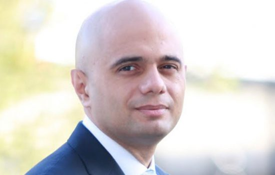 Rt Hon Sajid Javid has been appointed as Secretary of State for Business, Innovation and Skills.