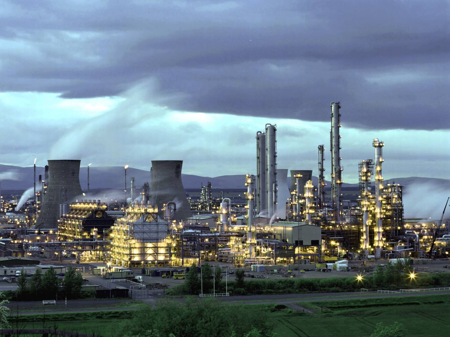 Ineos' Grangemouth site is the company's largest manufacturing site by volume of products. It makes around 1 million tonnes of products pa, including solvents, and is Scotland's largest crude oil refinery.