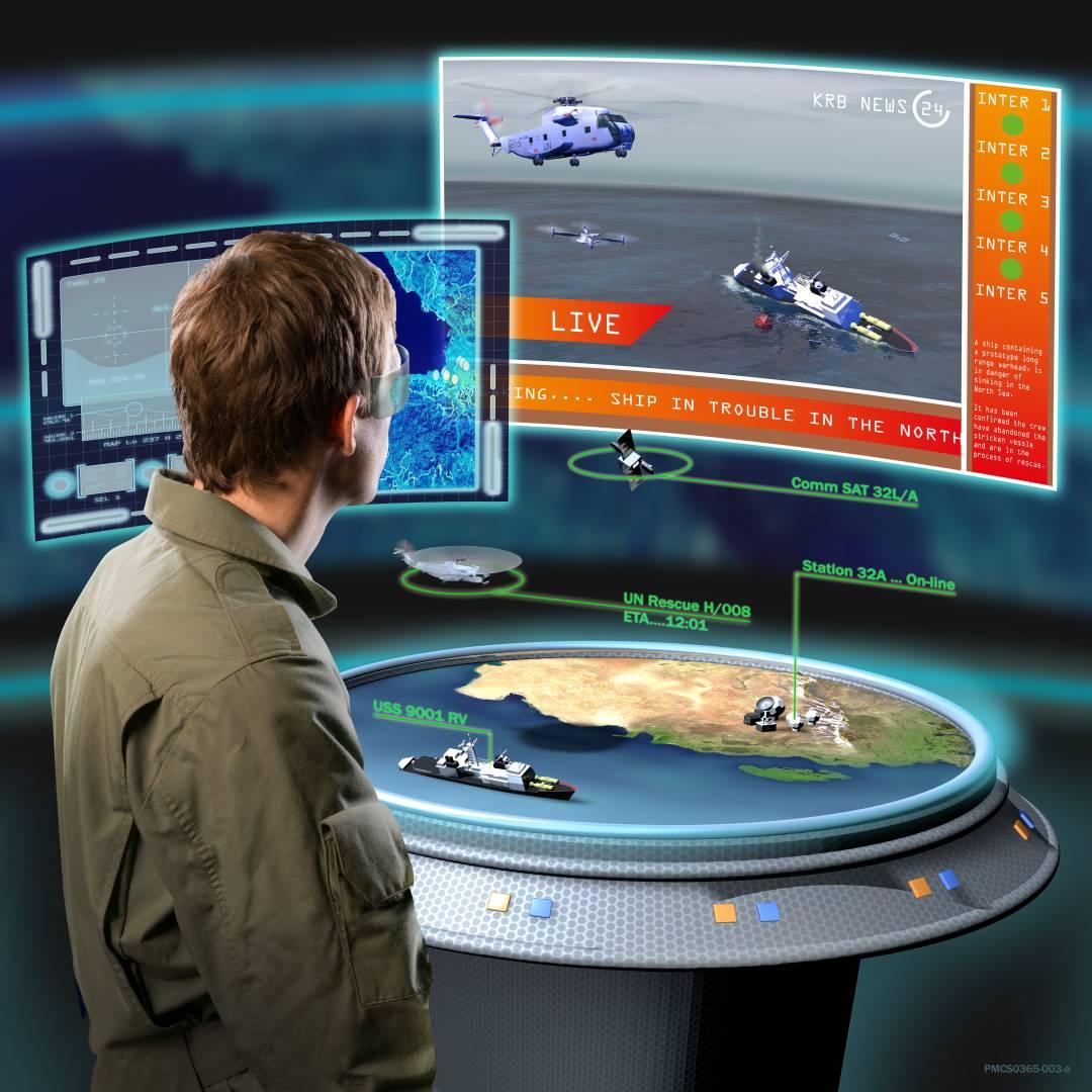 Future Mission Systems - Portable Command Centre