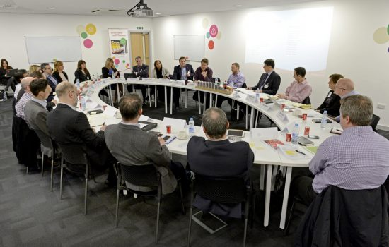 Sustainability roundtable event recently held at Coca-Cola Enterprises' (CCE) Milton Keynes factory.