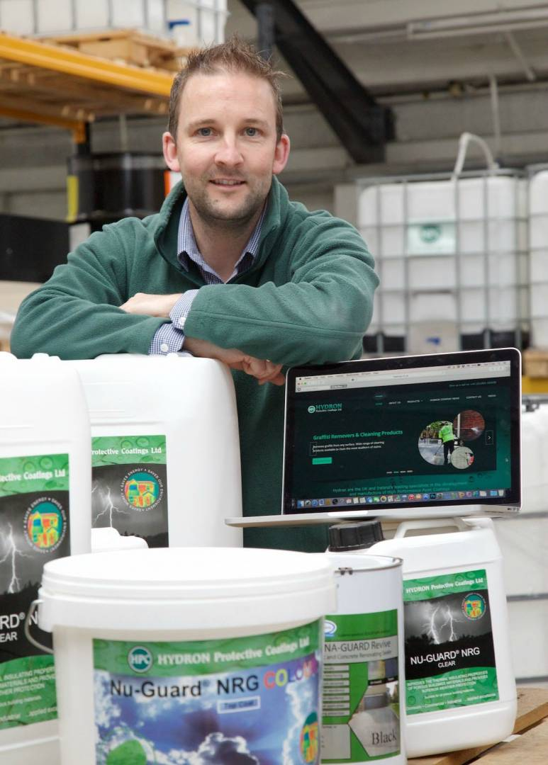 Oli Meanley, director, Hydron Protective Coatings.