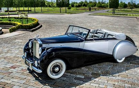 1952 Rolls-Royce Silver Dawn - one of the rarest cars in the world and muse for the new Rolls-Royce Dawn.