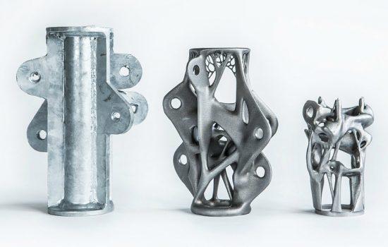 3D metal work printing (image courtesy of Davidfotografie/Arup)