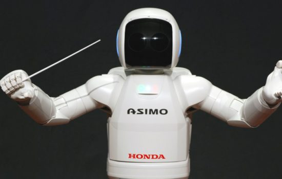 The expertise which built Honda's Asimo robot will be used for the new Robot Revolution Initiative. Image courtesy of Honda.