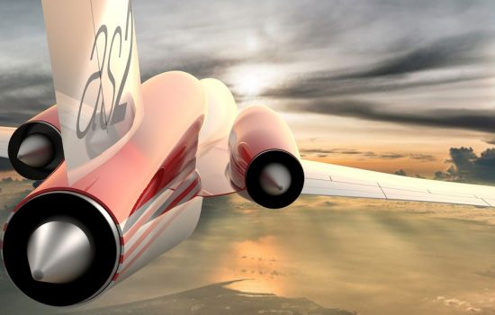Aerion has opened its order book and set a price for its AS2 Supersonic Business Jet - image courtesy of Aerion.