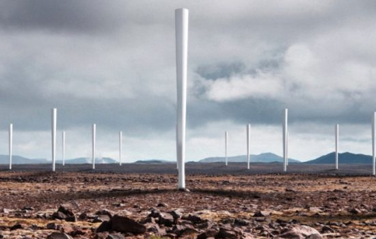 The Vortex Bladeless wind tower could revolutionise wind power generation. Image courtesy of Vortex Bladeless