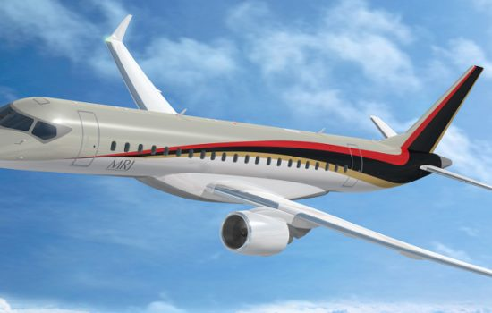 The design of the Mitsubishi Regional Jet by Mitsubishi Aircraft