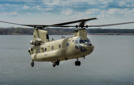 Boeing has delivered the first two of seven CH-47F Chinooks to the Australian Army at a ceremony in Queensland. The remaining aircraft will be delivered throughout 2015 - image courtesy of Boeing.