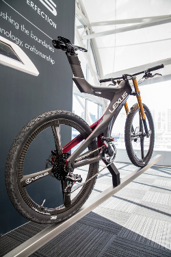 The NXB concept bicycle at The Good Design Awards.