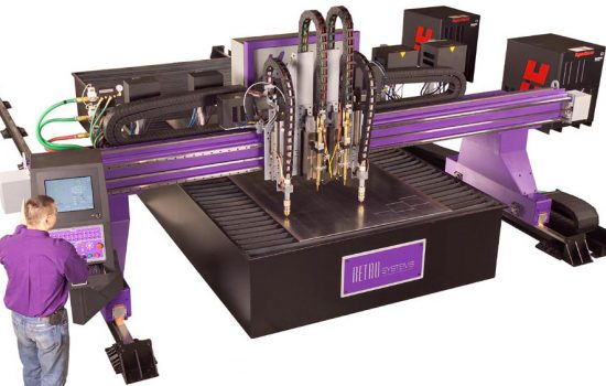 The Mega Hornet 2000 plasma cutting machine from Retro Systems - image courtesy of Retro Systems
