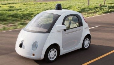 The Google self-driving car - image courtesy of Google