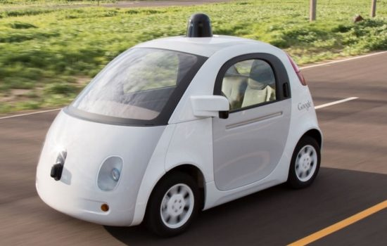 A Google self-driving car - image courtesy of Google