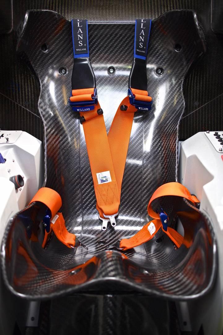 Bloodhound SSC Driver Seat