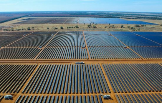 Solar PV is one of the major growth areas for renewables investment. Image courtesy of AGL