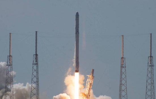 SpaceX CRS-7 lifted off from Space Launch Complex 40 at Cape Canaveral Air Force Station at 1021 a.m. EDT. After liftoff, an anomaly occurred