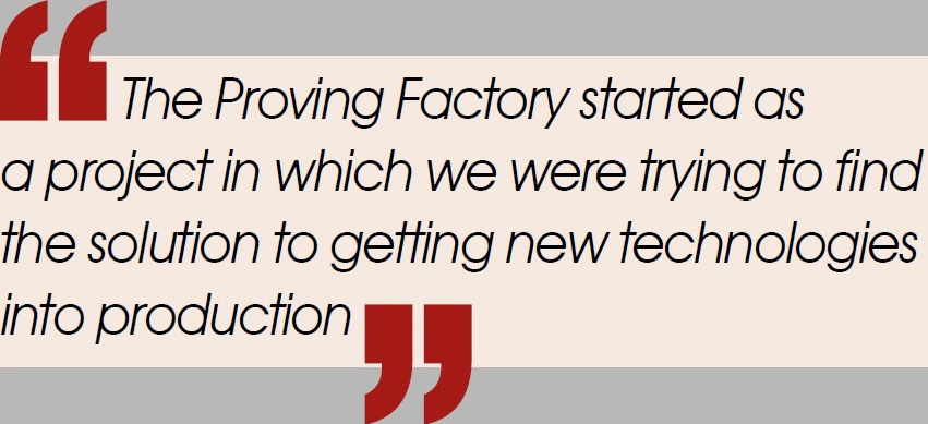 The Proving Factory PQ