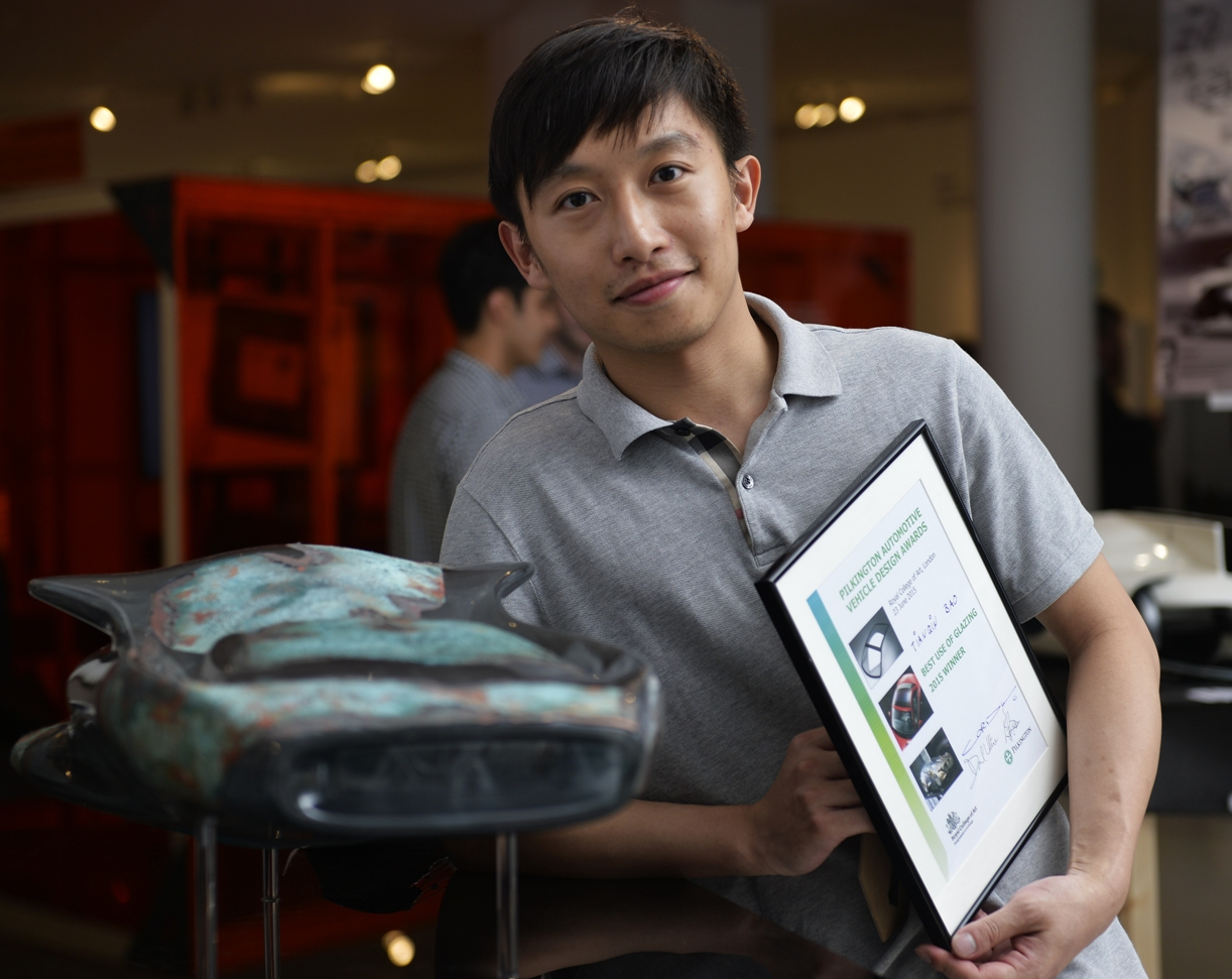 Tianqin Bao also won Best Use of Glazing.