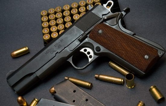 A Colt 1911, one of the company's most iconic guns. Image courtesy of Flickr - sadaton.