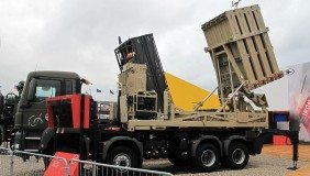 Defence Israelan system Iron Dome at Paris Air Show 2013 - image courtesy of Wiki Commons