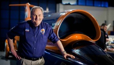 Richard Noble, project director, Bloodhound SS (Image courtesy of Stefan Marjoram)