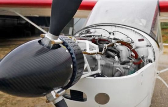 The Universidad Carlos III de Madrid and Axter Aerospace have developed an electric engine for light planes to use in case of an emergency.