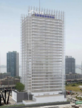 The Telus Tower smart building in Toronto - image courtesy of Menkes.