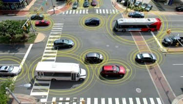 Networked cars will become more common in the future. Image courtesy of the US Department of Transportation.