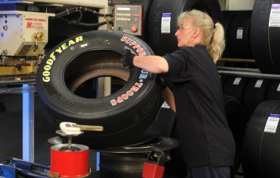 Goodyear Dunlop will close its sole UK manufacturing plant. Image courtesy of Goodyear.