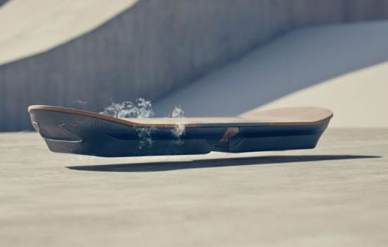 The new Lexus hoverboardoperates using magnetic levitation while featuring iconic Lexus design features - image courtesy of Lexus.