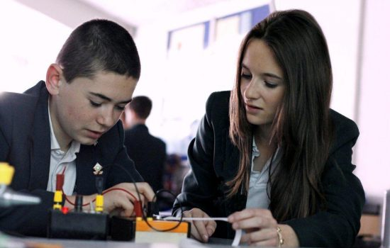 As the curriculum involves all students aged 11 to 14, everyone is given the chance to see whether a career in STEM might be for them.