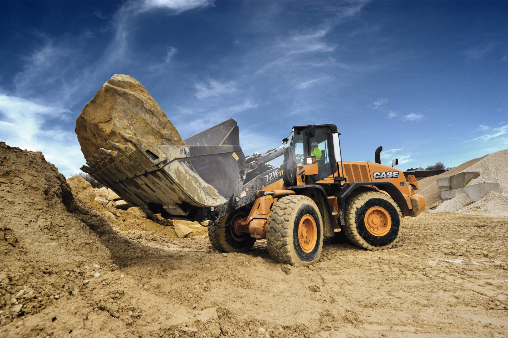 Case Construction Equipment Wheel Loader