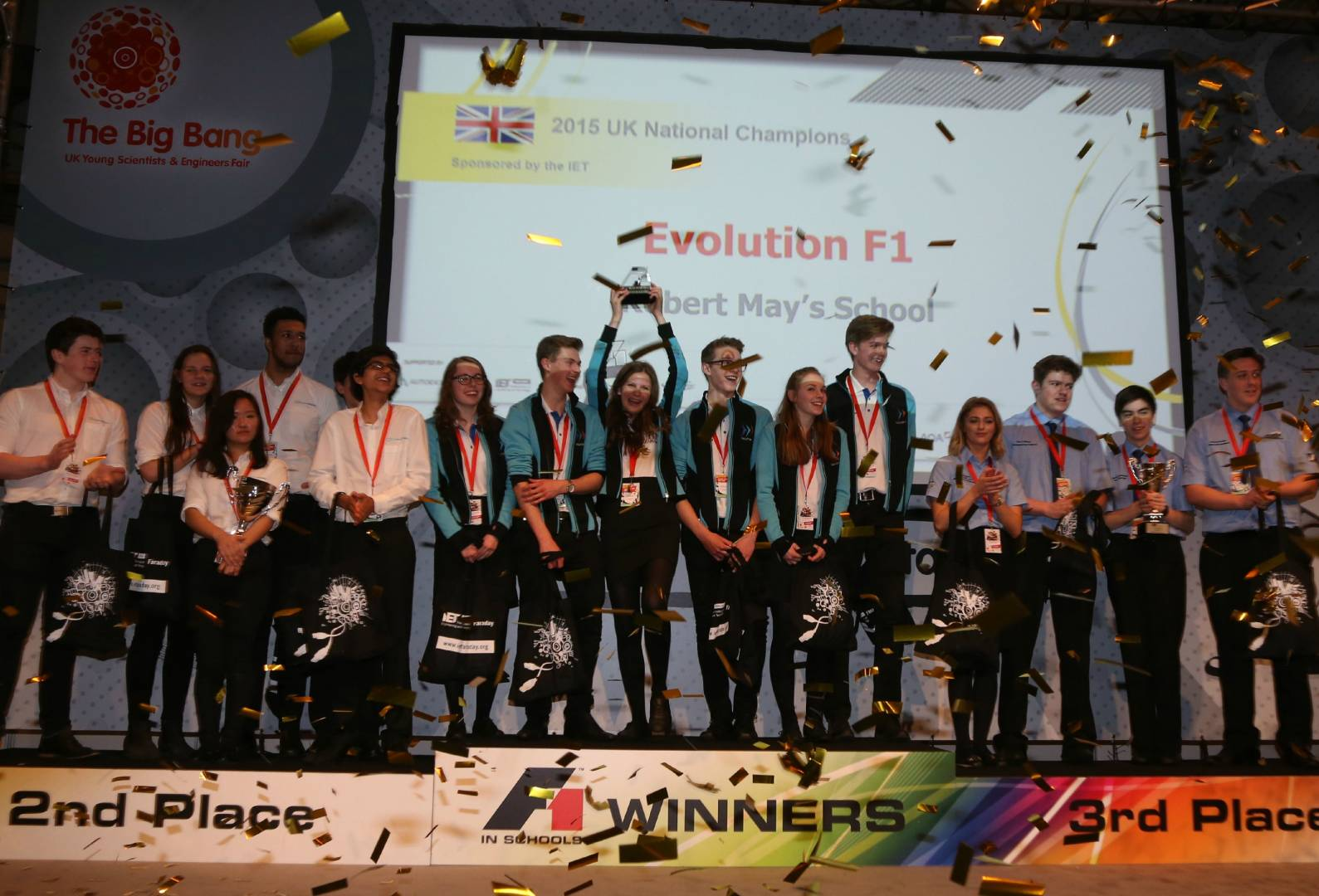 Evolution F1 crowned UK National Champions 2015