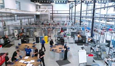 The Advanced Manufacturing Research Centre (AMRC) Training Centre.