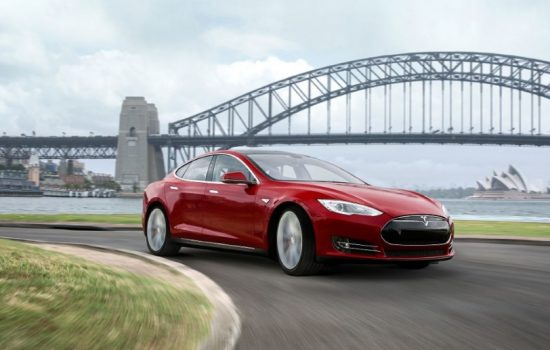 The Tesla Model S, winner of the Good Design Award. Image courtesy of Good Design Australia.