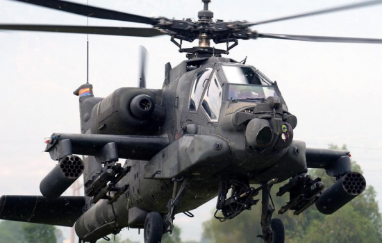 RMCI assisted to optimise Apache helicopter gear systems - image courtesy of RMCI.