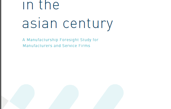Strategic Growth in the Asian Century