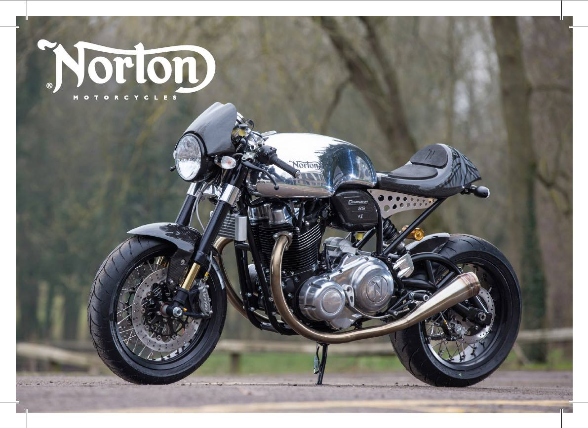 Earlier this month, Norton announced the first exports of the new Norton Dominator SS.